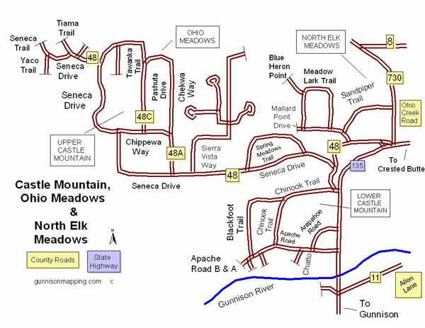 Castle Mountain, Ohio Meadows and North Elk Meadows